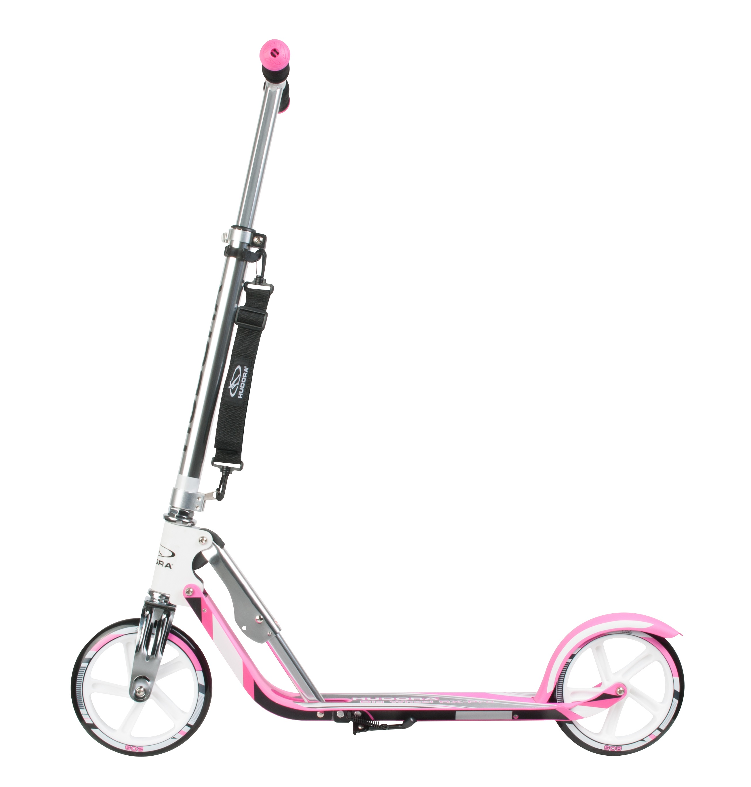 Самокат HUDORA Big Wheel RX-Pro 205 NEW Pink для профессионалов