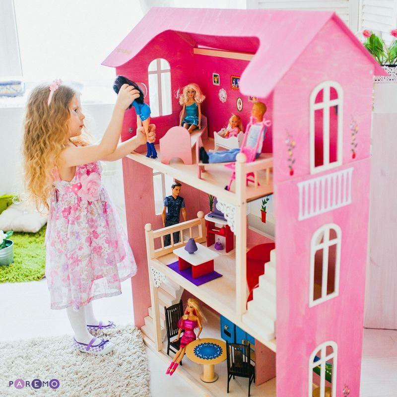 Кукольный домик paremo для барби вдохновение