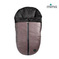 Mima Конверт утепленный Footmuff Chocolate Black для коляски