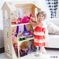Кукольный деревянный домик Шарм PAREMO